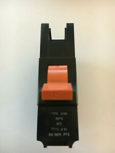 FEDERAL ELECTRIC STAB-LOK CNA M5 TYPE 3 6A MCB FUSE SWITCH