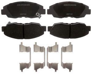 Disc Brake Pad Set-Ceramic Disc Brake Pad Front ACDelco Advantage 14D1896CH
