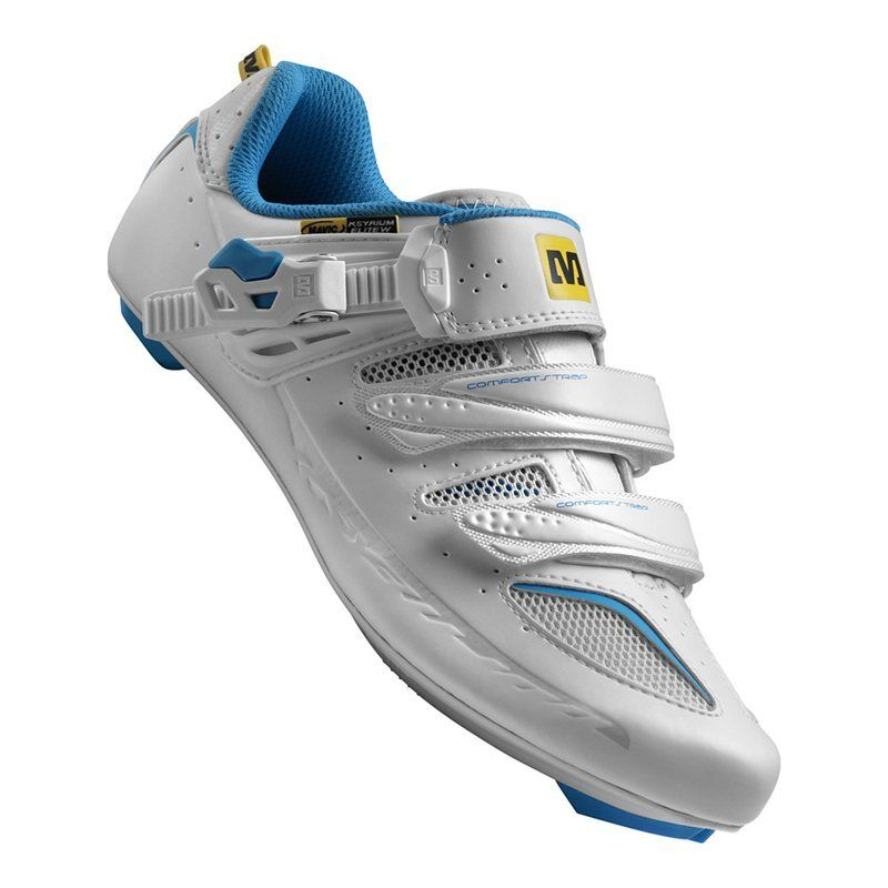 Mavic Ksyrium Elite W Ladies Road Cycling shoes - White   bluee - Size 3.5