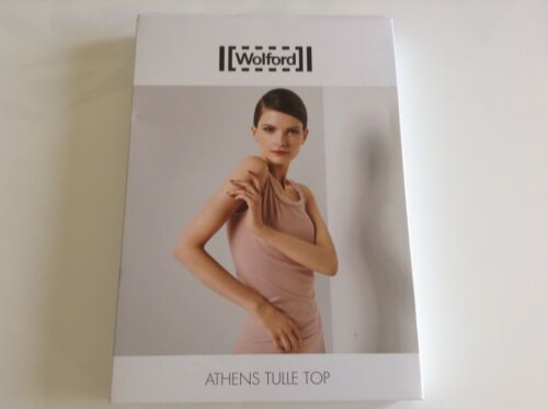 Atene Auth 00 95 L Rose 100 Wolford rosa Tulle Bnib £ Powder Top Rrp O5qtBcw