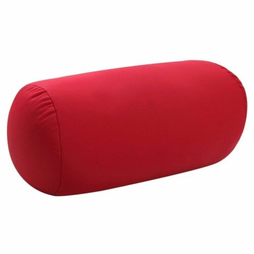 Round Shape Bolster Pillow with Case Long Body Support Orthopaedic Pregnancy