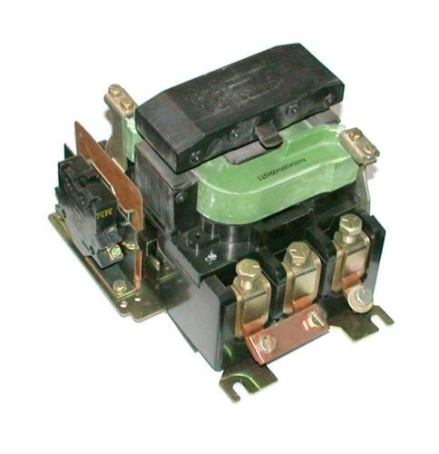 General Electric 3Pole Contactor 11595 VAC COIL 5060 Hz Size 4