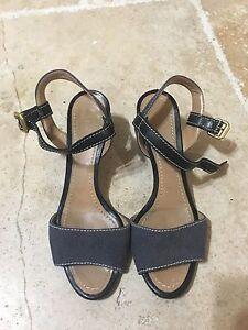faa0c426e2d Image is loading Chloe-Women-039-s-Wedge-Sandals-Heels-Ankle-