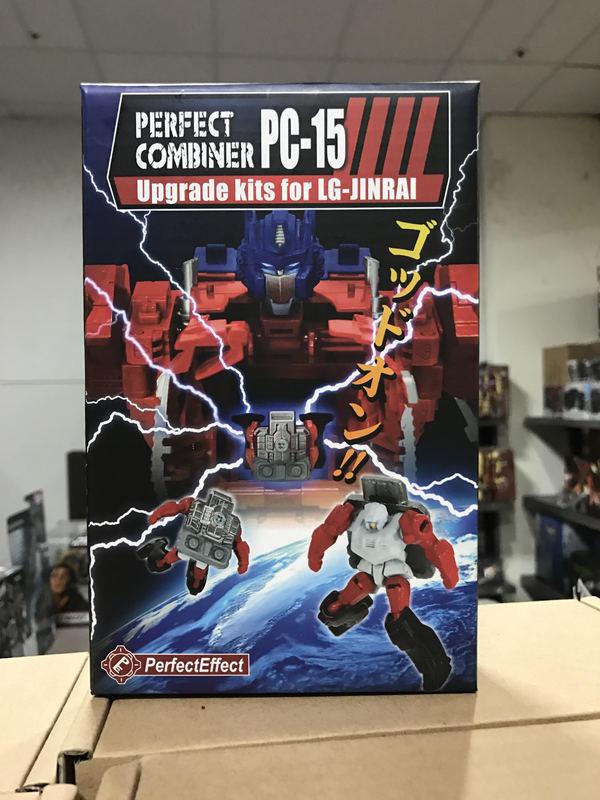 [giocattoli Hero] In he  Transformers Perfect Effect PC-15 Jinrai Optimus Upgrade Kit  spedizione veloce a te