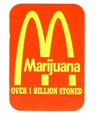 FUN - Marijuana M - Over 1 Billion - Aufkleber Sticker - Neu #247 - Funartikel