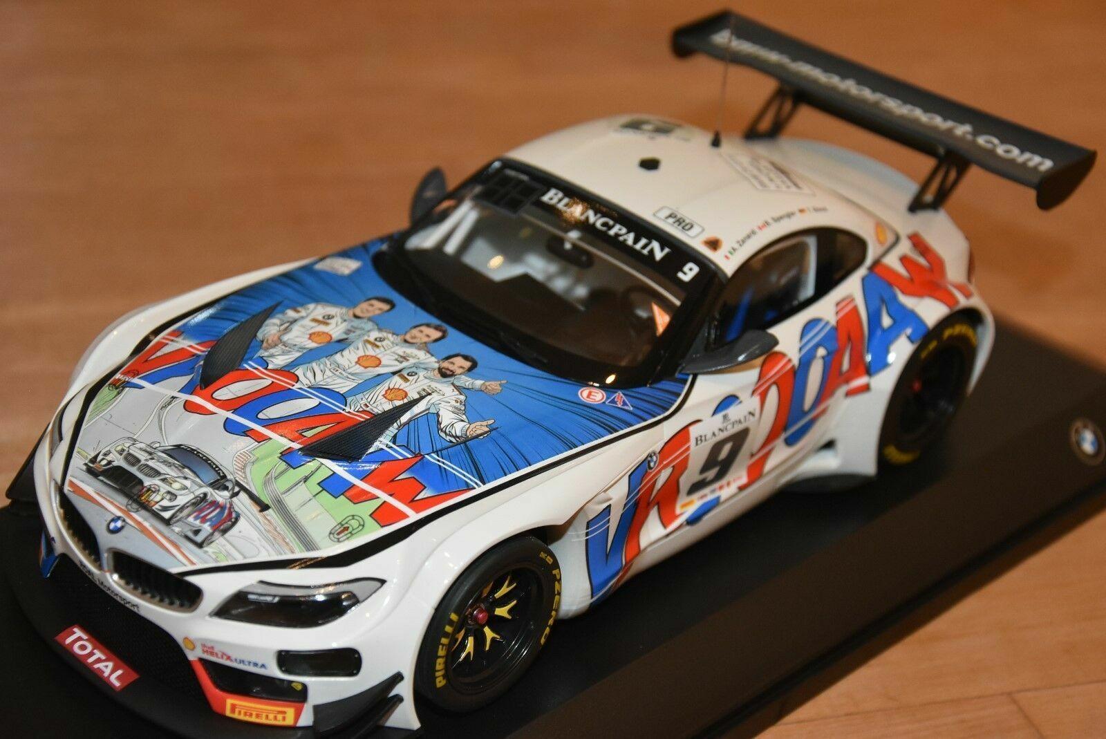 BMW Z4 GT3  DIECAST SCALE 1 18. 80432454834