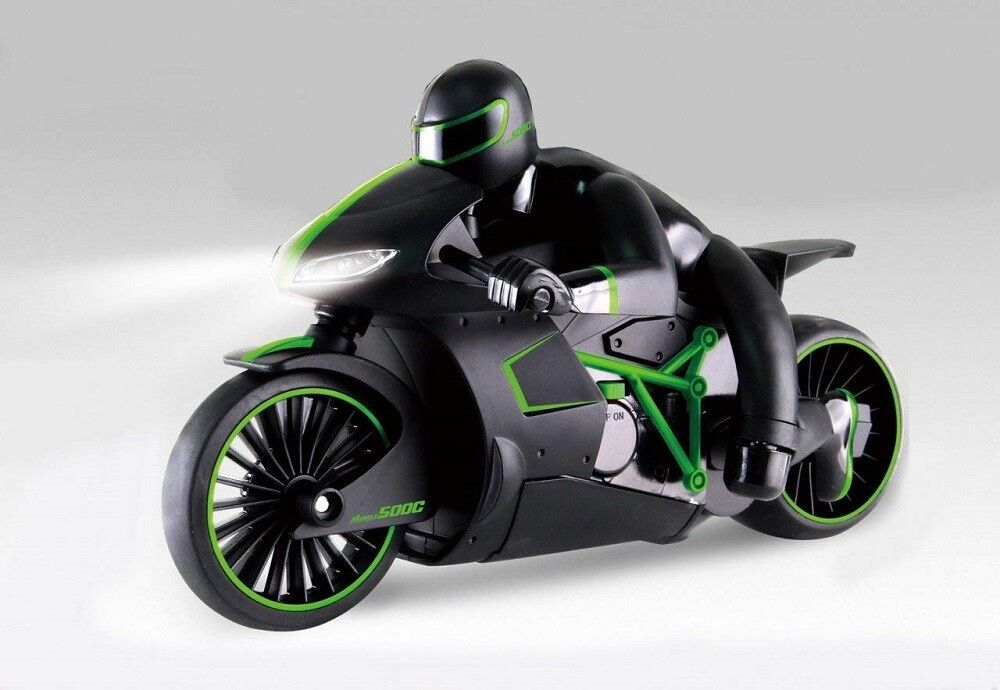 Verde High-Speed Lightning R/C Remote Control Motorcycle 2.4GHz Rechargeable