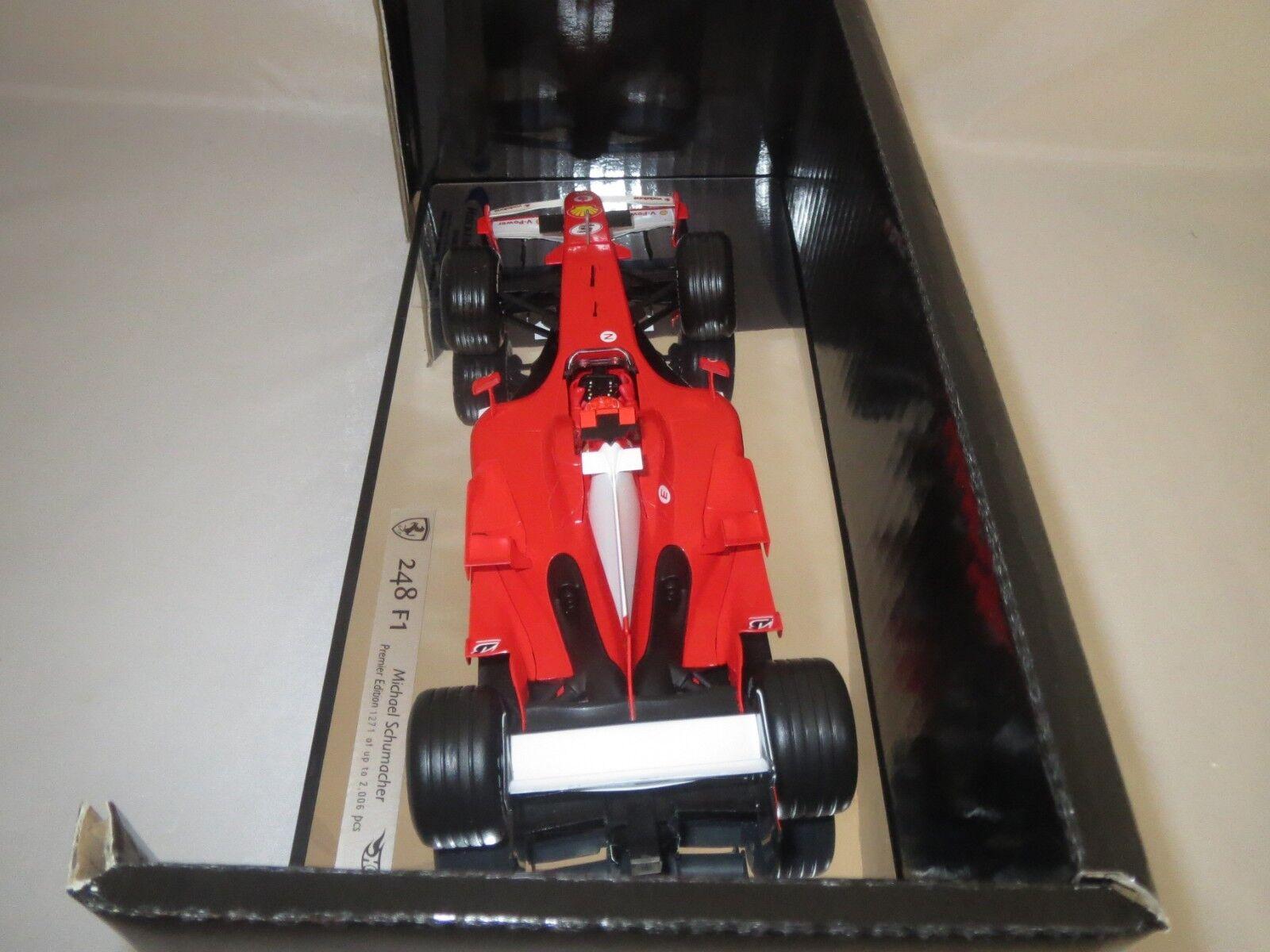 Mattel Mattel Mattel j2987 (M. Schumacher #5) 248 f1