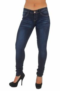 Plus-Size-Classic-5-Pockets-Washed-Skinny-Jeans