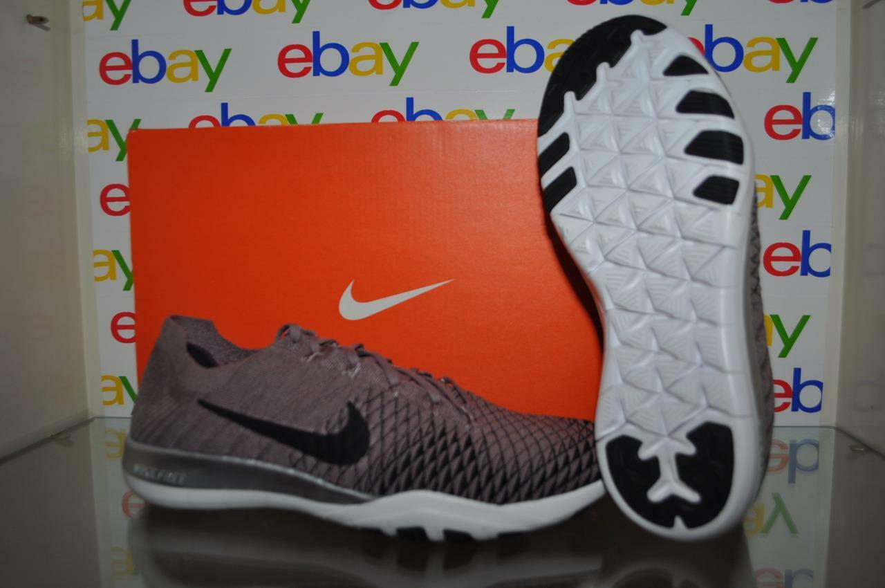 Nike Free Training TR Flykit 2 Womens Training Free Shoes 904654 200 Taupe Gray/Black Chrome 921d83