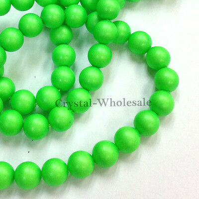 500 pcs Swarovski 5810 4mm Crystal Pearls Beads Factory Pack color [ M - W ]