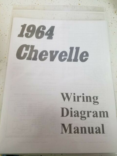 New 1964 Chevy Chevelle Wiring Diagram Manual     Free