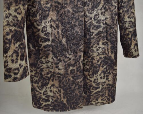 Dress Womens Jacket Print Dana 2 Evening Buchman Blazer Leopard 8g6qtwR