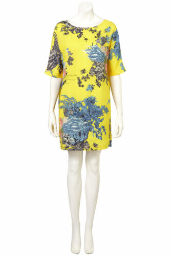 36 8 T shirt Uk Euro Us 4 Dress Print Lemon Lotus Topshop Bnwt 1ZBxqwfzt
