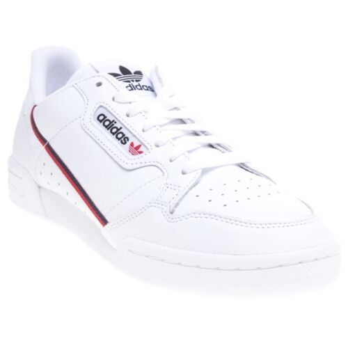 New MENS ADIDAS WHITE CONTINENTAL 80 LEATHER Sneakers Court