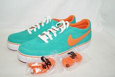 Nike SB ZOOM AIR HARBOR Gr.42,5 UK 8 grün orange Skaterschuhe 316049 381 SAMPLE