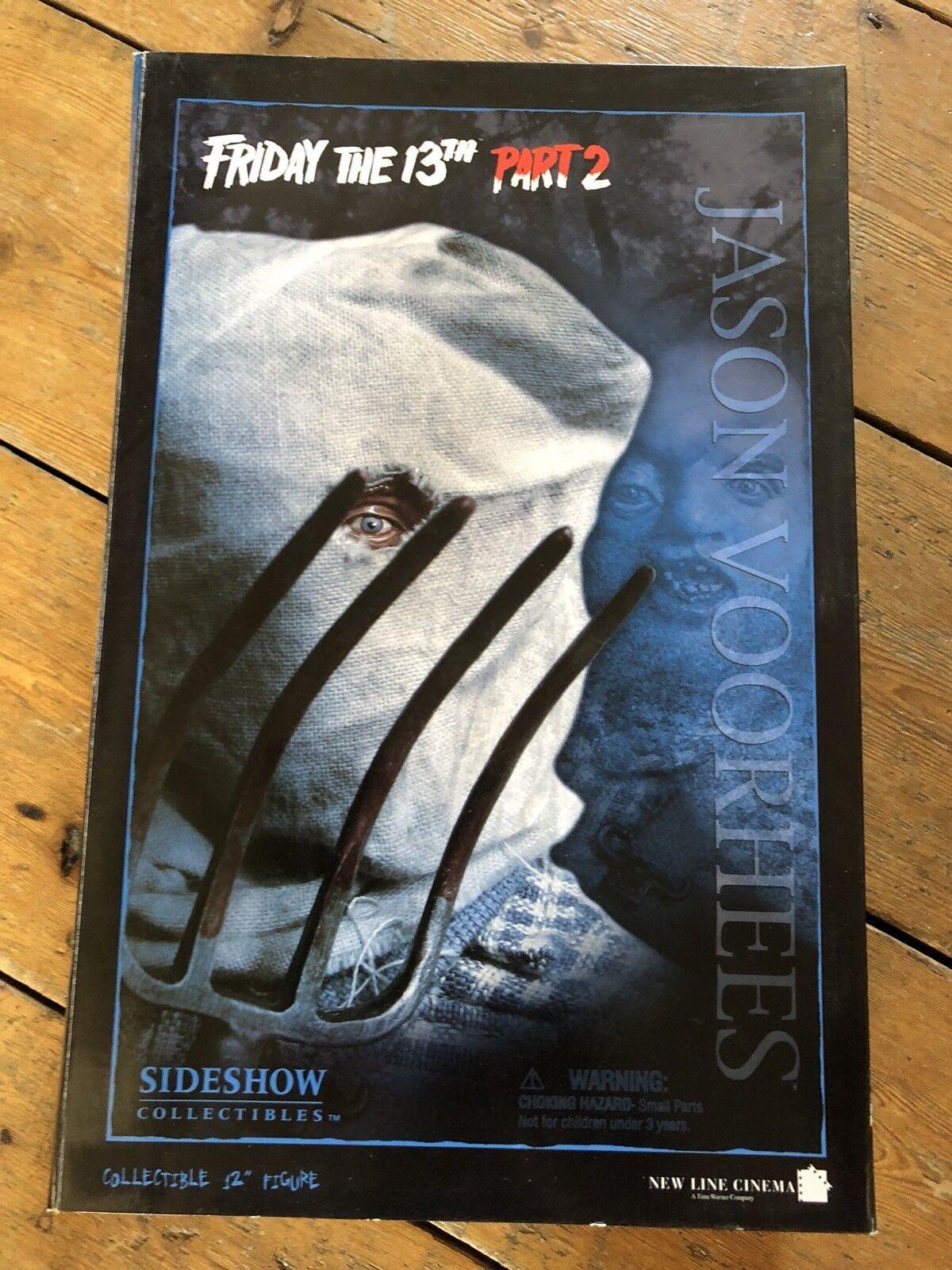 Venerdì 13 la Sideshow parte II Jason Voorhees afssc 84