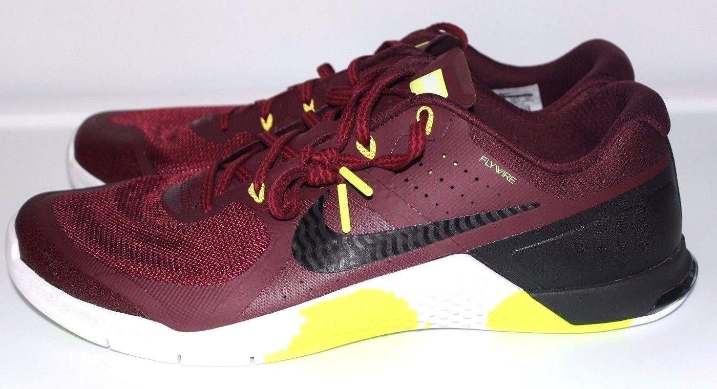 Nike metcon 2 Amp Flywire EUR 44.5 RARA Sautope Da Ginnastica Nuovo con Scatola 100% ORIGINALE Sautope classeiche da uomo