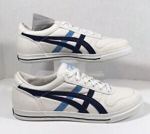 Details about Asics Alton Women's White Canvas Shoes H066N Size 9.5