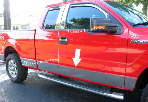 "2009-2014 Ford F-150 Super//Extended Cab 6.5/' Short Bed N//F Rocker Panel Trim 7/"""