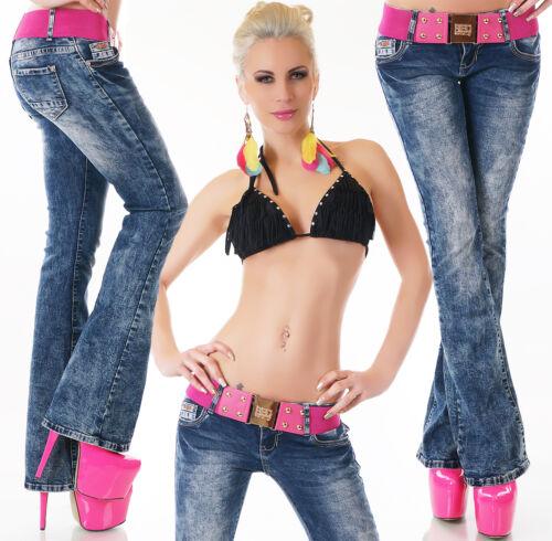 Gürtel  Gr.32-40 REDSEVENTY Bootcut Jeans