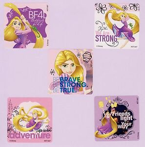 75 Tangled - Disney Princess Rapunzel - Large Stickers - Party Favors