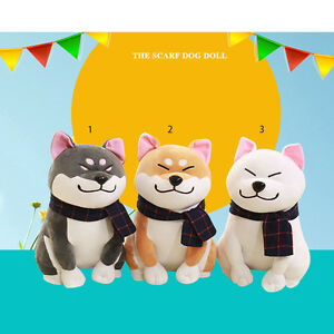 1X-Dog-Doll-Toy-Akita-Dog-With-Scarf-Doge-Plush-Cute-Cosplay-Kids-Gift-3-Colors