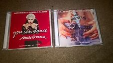 MADONNA - YOU CAN DANCE + LIKE A PRAYER - ALTERNATE 2x DOUBLE ALBUMS - CDs