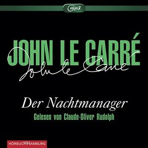 CLAUDE-OLIVER-RUDOLPH-JOHN-LE-CARRE-DER-NACHTMANAGER-3-CD-ROM-NEW