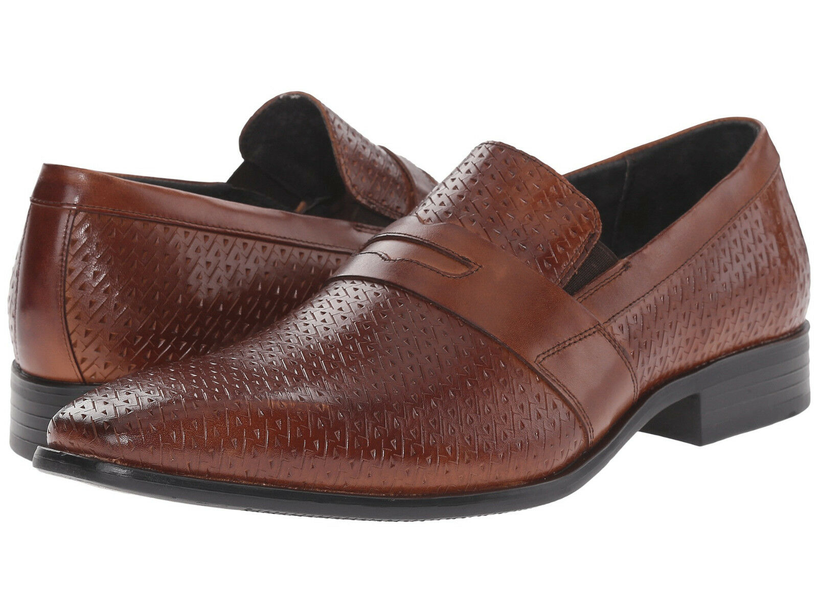 Stacy Adams Mens Marcellus Slip On Business Casual Penny Loafers Dress shoes