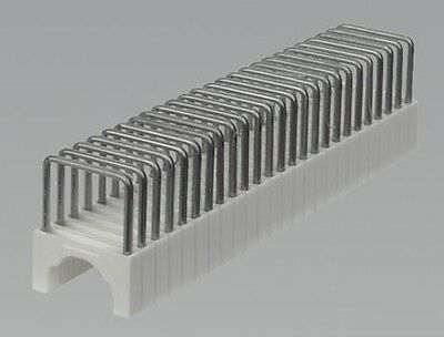 CT8125S03 SEALEY STAPLES 9MM ROUND 7.5 X 12.5MM FLAT FOR CT8125 PACK OF 200