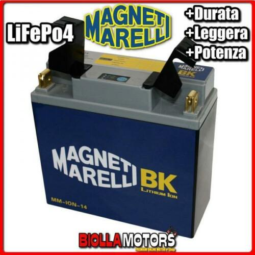 MM-ION-14 BATTERIA LITIO 51814 BMW R80GS R80ST 800 1983 MAGNETI MARELLI 51814