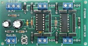 Douce décodeur, w-DEC 2 broches, pour einspulige entraînements nrma DCC DIGITAL, IEK  </span>