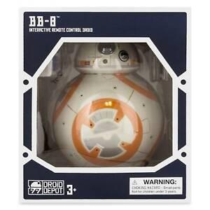 Disney-BB-8-Interactive-Telecommande-Droide-Depot-Star-Wars-Galaxy-S-Bord-Neuf