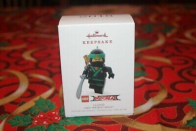 HALLMARK LLOYD LEGO Minifigure NINJAGO ORNAMENT NEW NIB Green Ninja