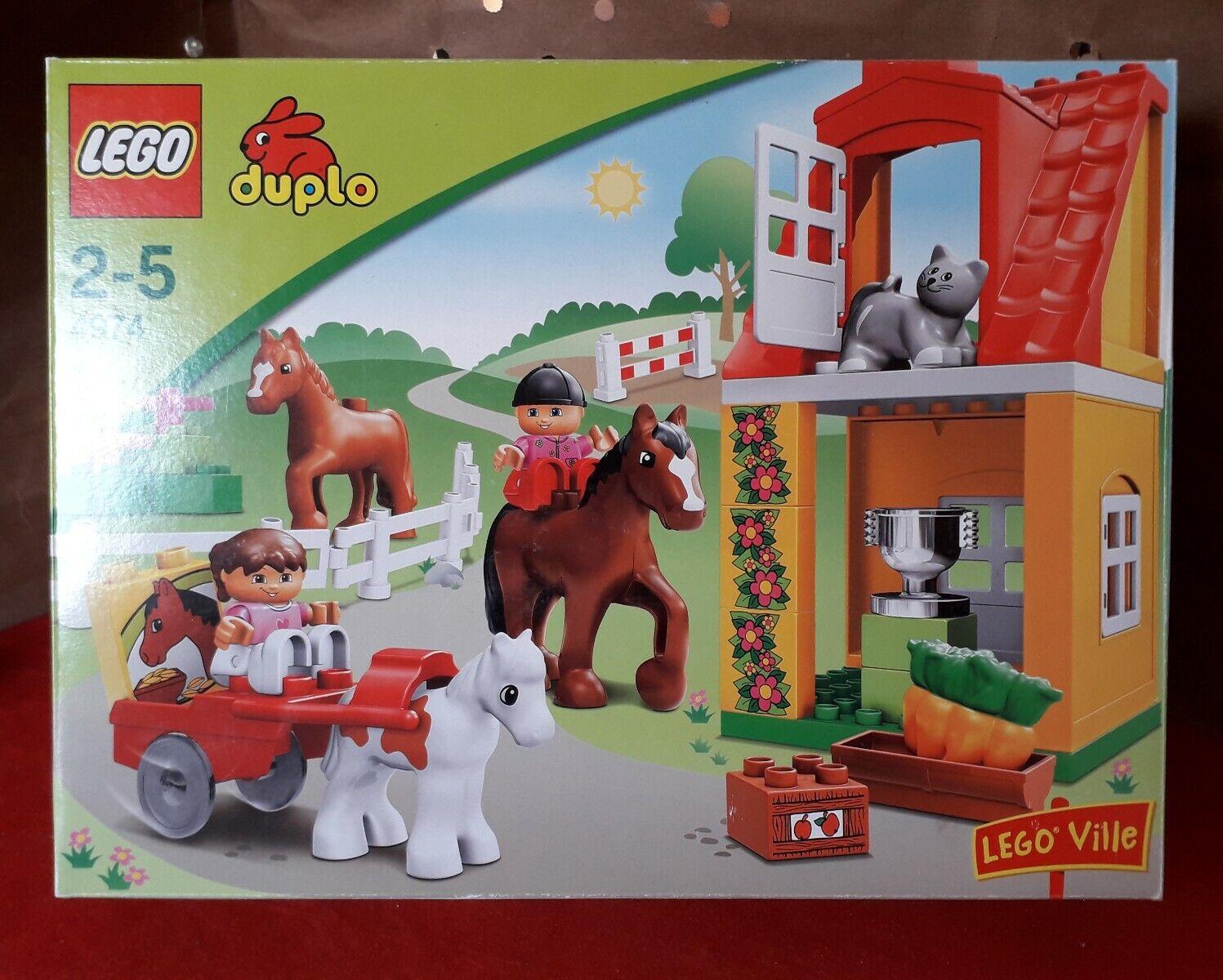 Lego Duplo 4974 Horse Stables - completo al 100%