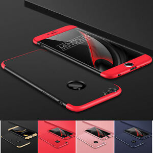 Huelle-iPhone-6-s-Plus-Full-Cover-360-Grad-Handy-Schutz-Case-Tasche-Glas-Folie