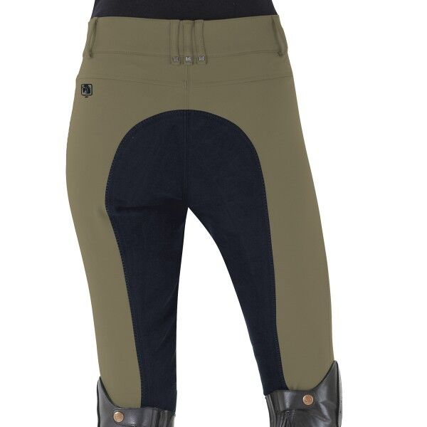 ROMFH Sarafina Full Seat Breeches in Deep Sage Navy
