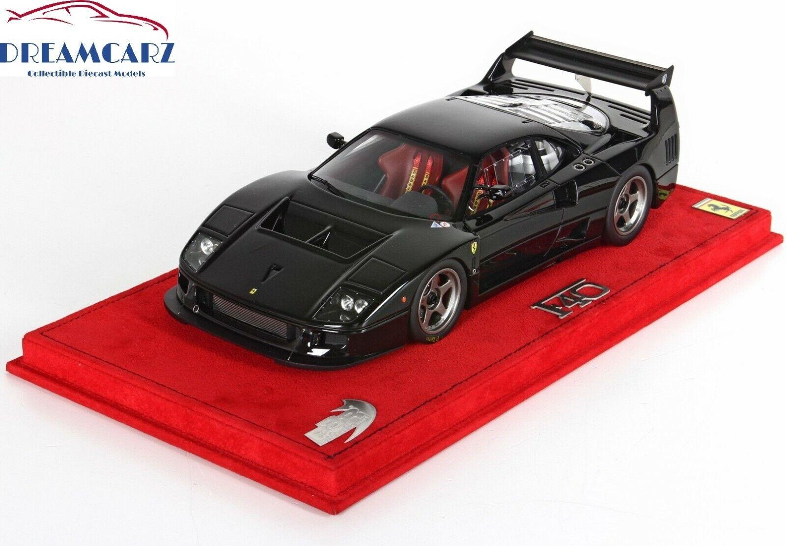 BBR 1 18 Ferrari F40 LM P18131B-Con Display Case-Limitada 99 Piezas