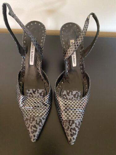 Manolo Blahnik Slingback shoes