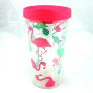f8589ec2d5f Pink Flamingo Pineapple Tervis Tumbler 16 oz NEW Green Tropical ...