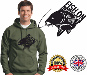 Carp Fishing Hoodie Carping Hoody Quality Brands Drink Like a Fish On Jumper