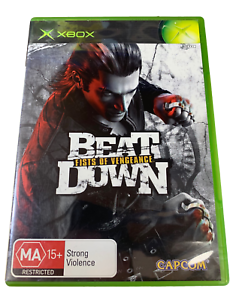 Beat Down Fists of Vengeance XBOX Original PAL *Complete*