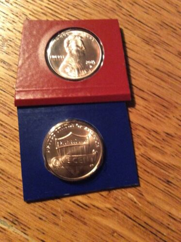 2015 Lincoln Cent P/&D from mint set