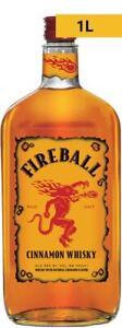 Fireball Cinnamon Whisky 1L 1000mL Bottle