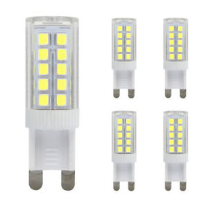 G9-LED-5W-40W-Light-Bulb-COOL-WHITE-Replacement-For-G9-Halogen-Capsule-Bulbs