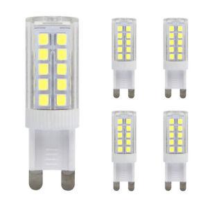 G9-DEL-5-W-40-W-Ampoule-Blanc-Froid-Remplacement-Pour-G9-Halogen-Capsule-Bulbs