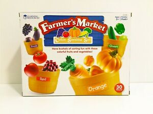 Learning Resources Farmer S Market Color Sorting Set Ebay