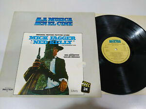 "Mick Jagger Ned KELLY Soundtrack Liberty 1982 - LP vinyl 12 "" VG/VG 5T"