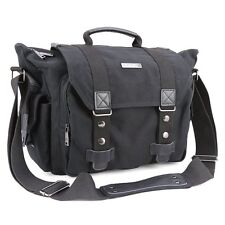 Camera Bag, Evecase Classic Large Canvas SLR DSLR Digital Camera and Laptop Case